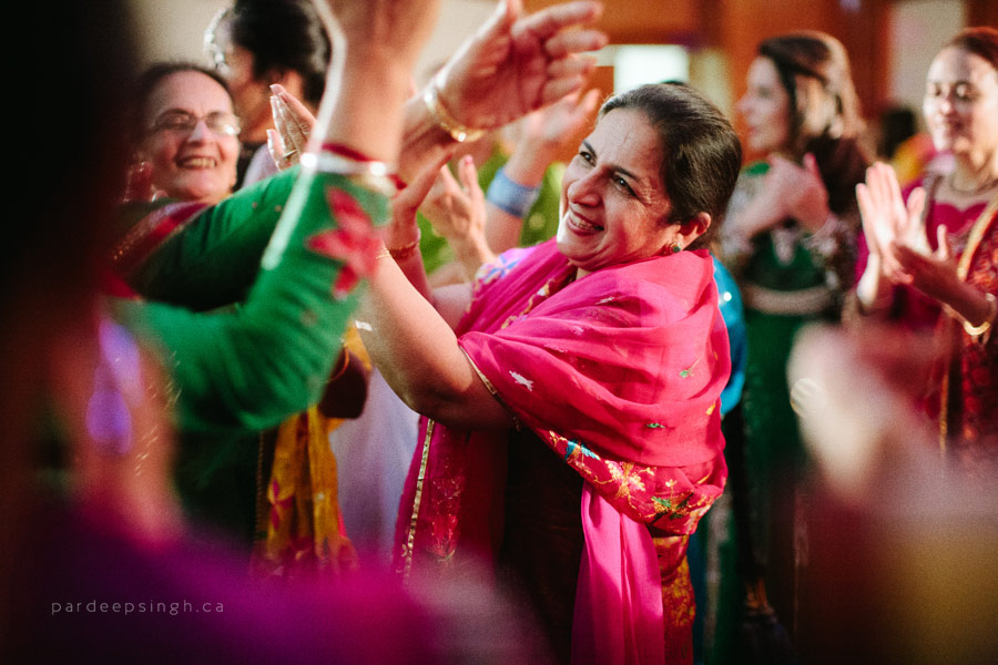 Punjabi Wedding Dancing