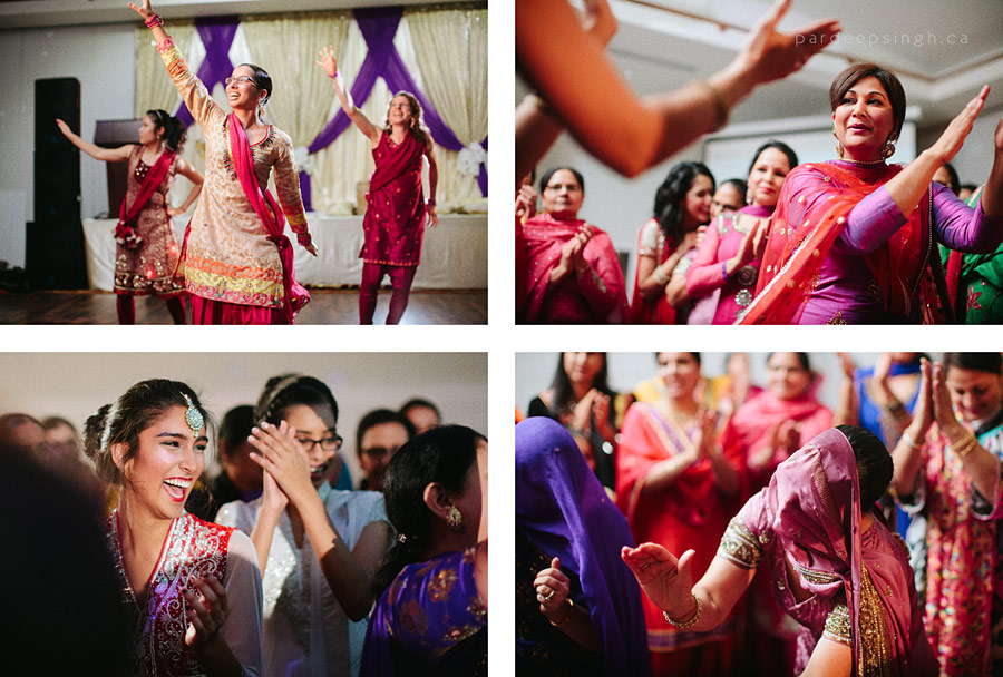 Punjabi Wedding Dancing Sangeet