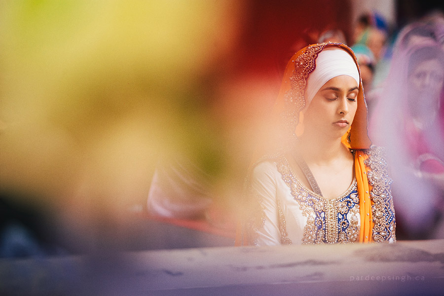 Sikh Wedding Ceremony Bride