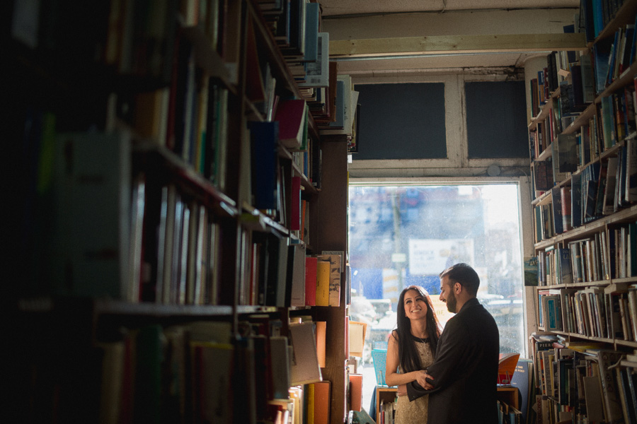 MacLeod's Books Engagement Photos