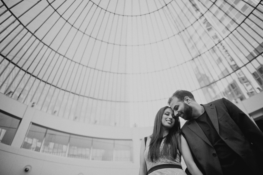 Downtown Vancouver Engagement Photos